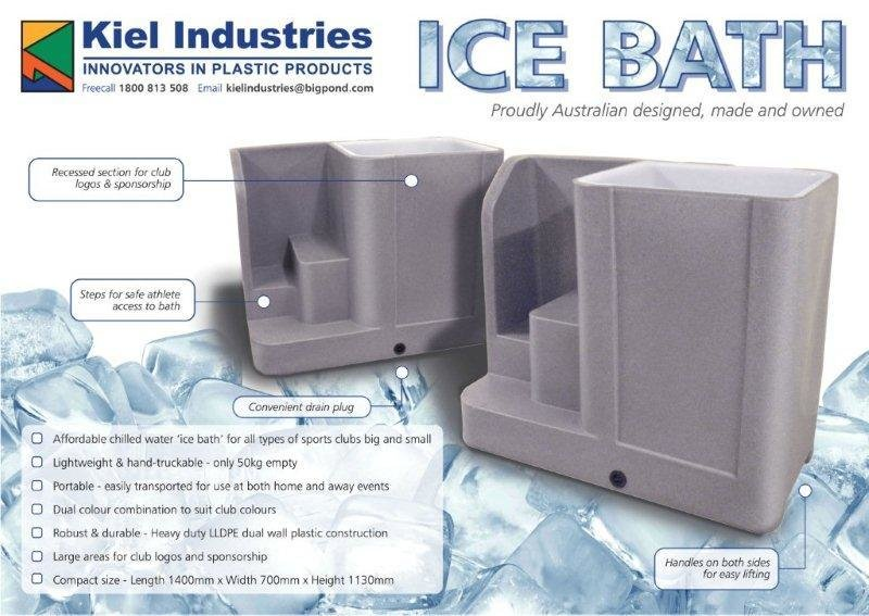 ice bath recovery tubs